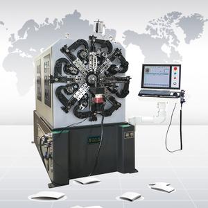 CNC642A 數控彈簧轉線成形機