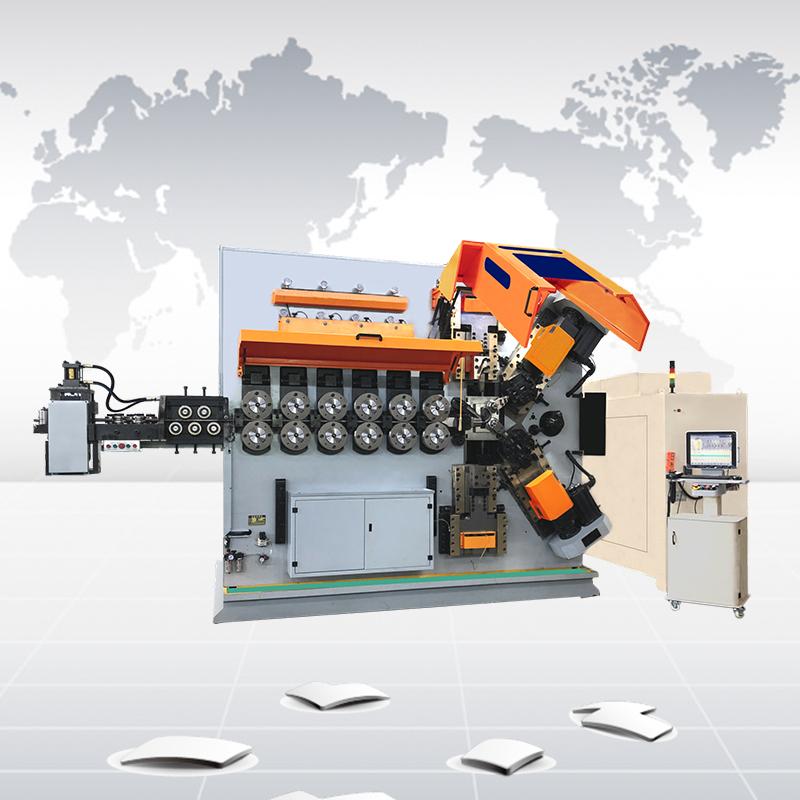 CK11250 十一軸數控彈簧成形機