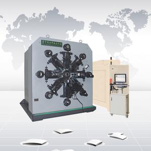 CNC12100 無凸輪十二軸數控彈簧轉線成形機